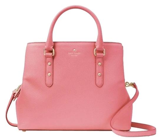 Preload https://img-static.tradesy.com/item/25345008/kate-spade-evangeline-larchmont-avenue-carolina-coral-satchel-0-1-540-540.jpg