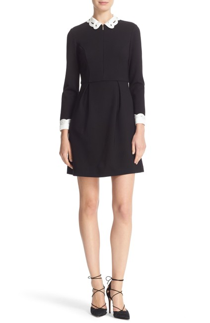 Preload https://img-static.tradesy.com/item/25345053/ted-baker-black-shealah-embroidered-collar-fit-and-flare-short-casual-dress-size-2-xs-0-0-650-650.jpg