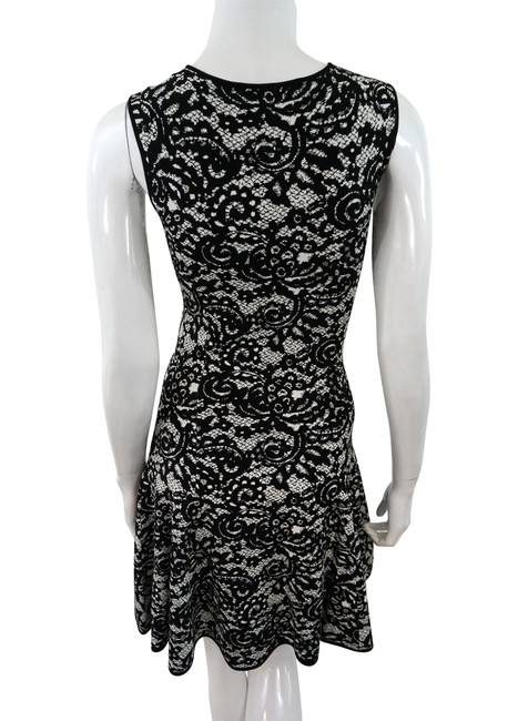 Scoop short dress Multicolor Knit Printed on Tradesy Image 1