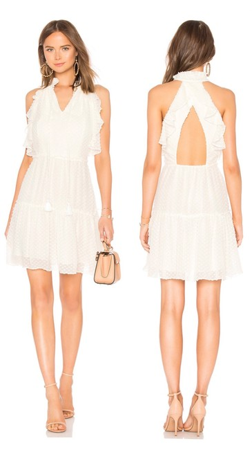 Preload https://img-static.tradesy.com/item/25345153/rebecca-minkoff-cream-back-cutout-ruffle-silk-short-cocktail-dress-size-0-xs-0-0-650-650.jpg