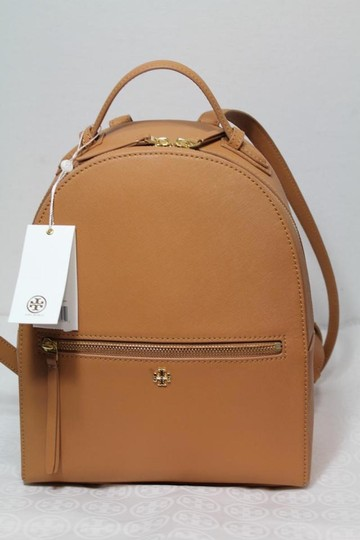 Tory Burch Leather Tote Backpack Image 1