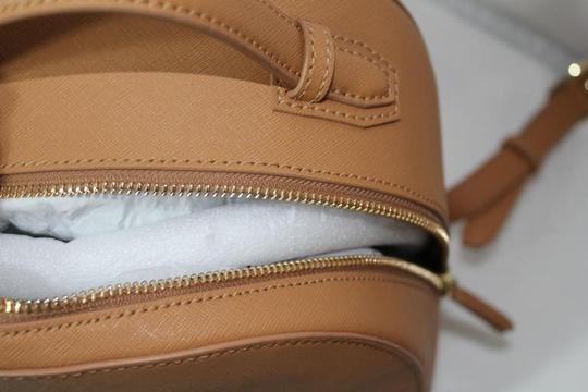 Tory Burch Leather Tote Backpack Image 8