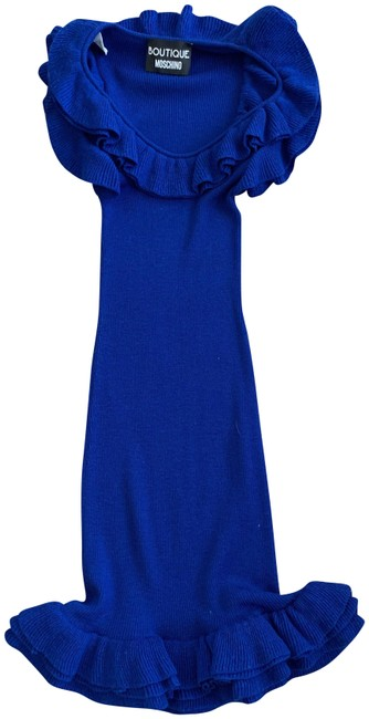 Boutique Moschino short dress Blue Winter Summer Spring Fall on Tradesy Image 1