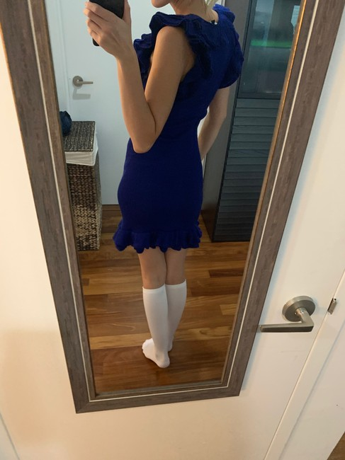 Boutique Moschino short dress Blue Winter Summer Spring Fall on Tradesy Image 4