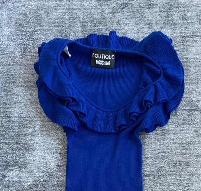 Boutique Moschino short dress Blue Winter Summer Spring Fall on Tradesy Image 5
