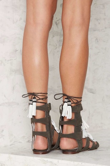 Jeffrey Campbell gray Sandals Image 1