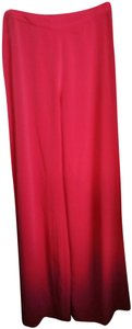 Alexis Wide Leg Pants Red