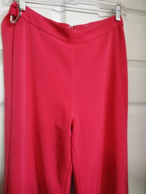 Alexis Wide Leg Pants Red Image 4