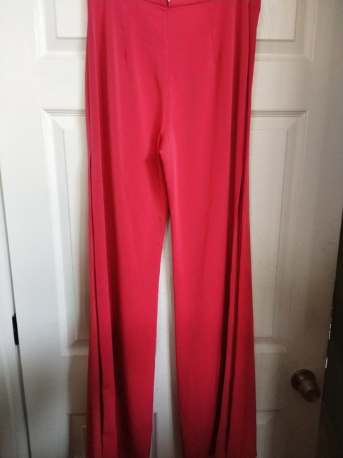 Alexis Wide Leg Pants Red Image 5