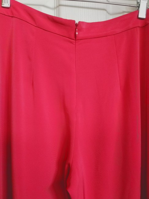 Alexis Wide Leg Pants Red Image 6