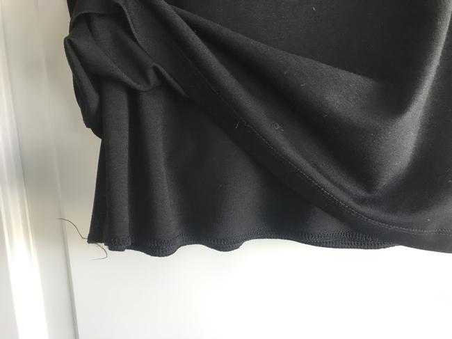 T by Alexander Wang Office Pencil Straight Formal Knit Skirt Black Image 3