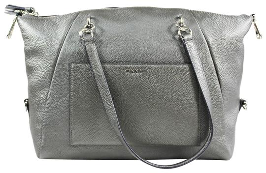 Preload https://img-static.tradesy.com/item/25345412/dkny-chelsea-pewter-leather-satchel-0-1-540-540.jpg