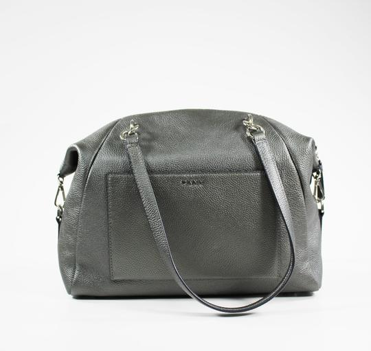 DKNY Satchel in Silver Image 1