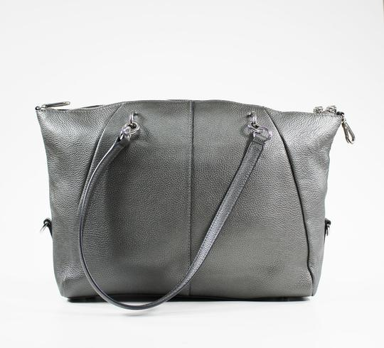 DKNY Satchel in Silver Image 2