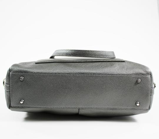DKNY Satchel in Silver Image 4
