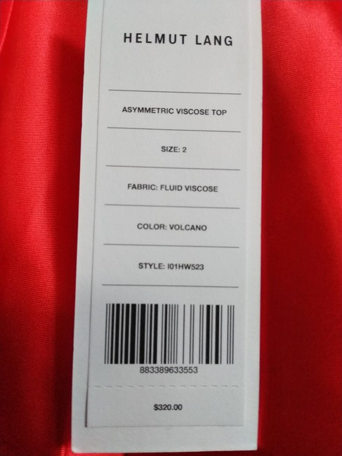 Helmut Lang Top Red Image 3