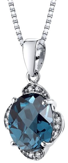 other Topaz Oval Pendant Image 0