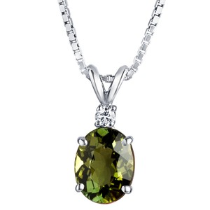 other Tourmaline Oval Pendant