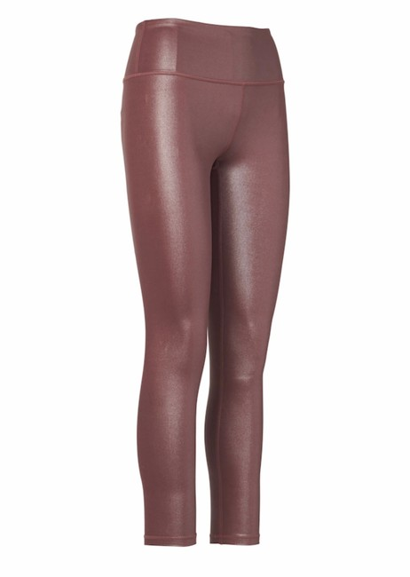 Item - Cinnamon Brown Elation Shimmer Tight In Powervita Style #353814 Activewear Bottoms Size 4 (S)
