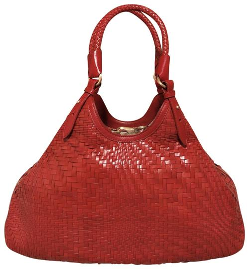 Preload https://img-static.tradesy.com/item/25345717/cole-haan-genevieve-woven-weave-tote-red-leather-shoulder-bag-0-1-540-540.jpg