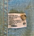AG Adriano Goldschmied Flannel Jeans Denim Chambray Dakota Button Down Shirt Blue Image 8