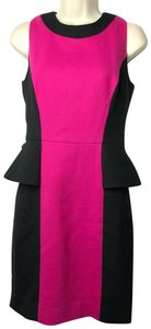 MILLY short dress black pink on Tradesy