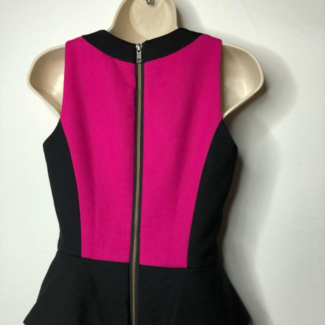 MILLY short dress black pink on Tradesy Image 4