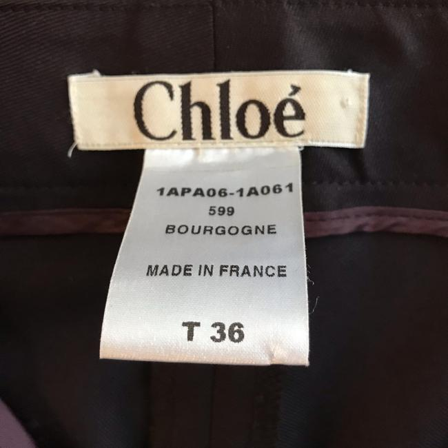 Chloé Boot Cut Pants Brown Image 6