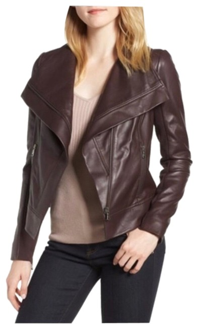 Preload https://img-static.tradesy.com/item/25345830/trouve-leather-jacket-size-2-xs-0-2-650-650.jpg