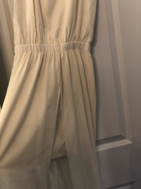 cream Maxi Dress by Karina Grimaldi Image 1