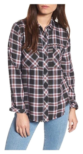 Preload https://img-static.tradesy.com/item/25345932/rails-charcoal-berry-rex-plaid-button-front-studded-shirt-button-down-top-size-0-xs-0-1-650-650.jpg