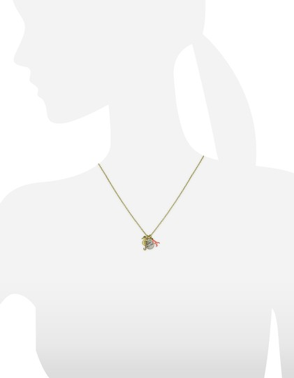 Juicy Couture NEW Seahorse Coral Charmy Necklace Image 3