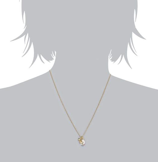 Juicy Couture NEW Seahorse Coral Charmy Necklace Image 4