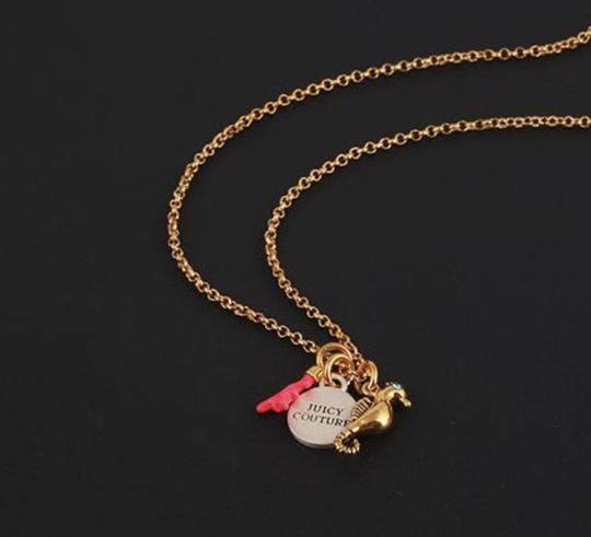 Juicy Couture NEW Seahorse Coral Charmy Necklace Image 5