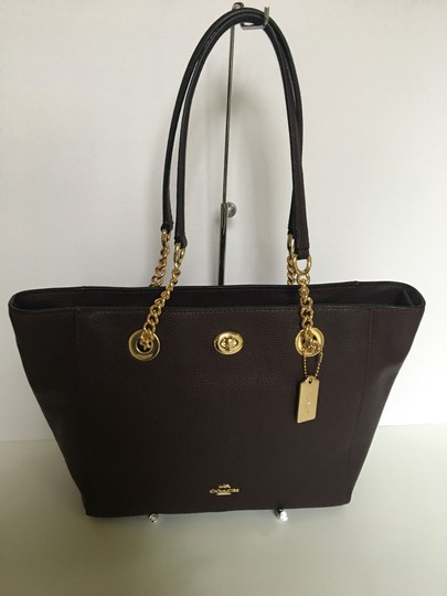 Coach Tote in oxblood Image 4