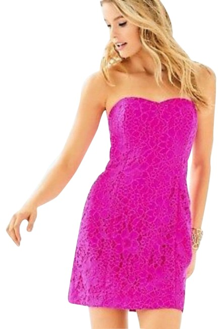 Preload https://img-static.tradesy.com/item/25346065/lilly-pulitzer-corded-lace-short-cocktail-dress-size-0-xs-0-1-650-650.jpg