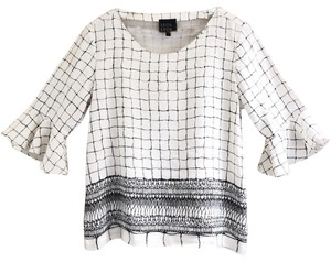 Leo & Sage Top Black, White