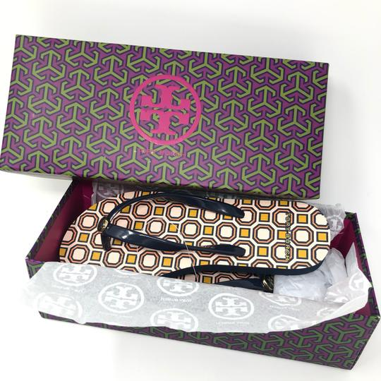 Tory Burch Tory navy ballet pink Sandals Image 1