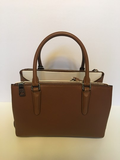 Coach Oxblood Brooklyn Satchel in saddle brown Image 2