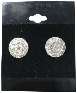 Boutique State of Texas Seal Earrings