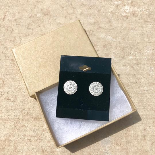 Boutique State of Texas Seal Earrings Image 3