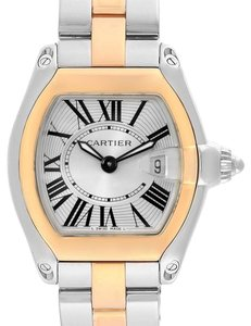 Cartier Cartier Roadster Steel Yellow Gold Small Ladies Watch W62026Y4