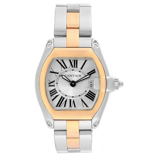 Cartier Cartier Roadster Steel Yellow Gold Small Ladies Watch W62026Y4 Image 1