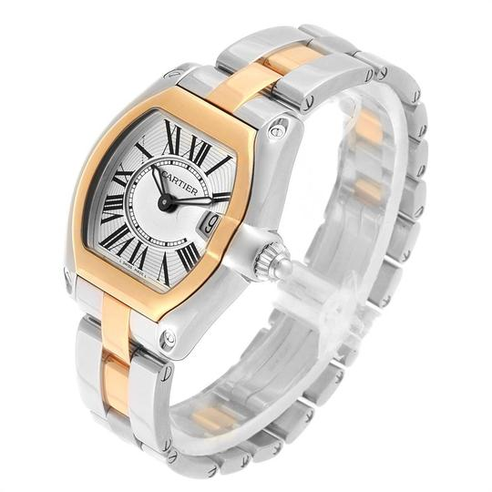Cartier Cartier Roadster Steel Yellow Gold Small Ladies Watch W62026Y4 Image 3