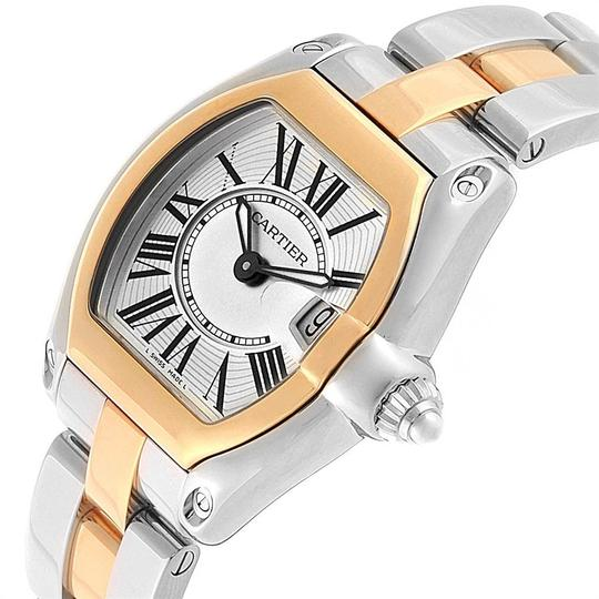 Cartier Cartier Roadster Steel Yellow Gold Small Ladies Watch W62026Y4 Image 4