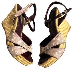 14c27c7aa797 Louis Vuitton Wedges - Up to 70% off at Tradesy