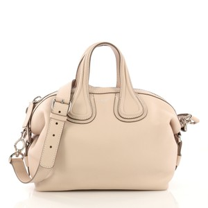 Givenchy Leather Satchel in nude