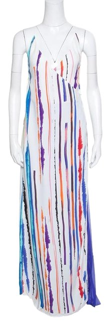 Preload https://img-static.tradesy.com/item/25346859/emilio-pucci-white-striped-pleated-tie-detail-long-casual-maxi-dress-size-4-s-0-1-650-650.jpg