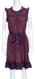 Marc by Marc Jacobs Silk Belted Dress