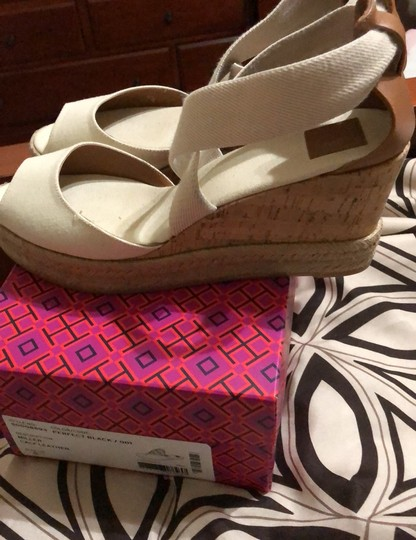 Tory Burch creme Wedges Image 3